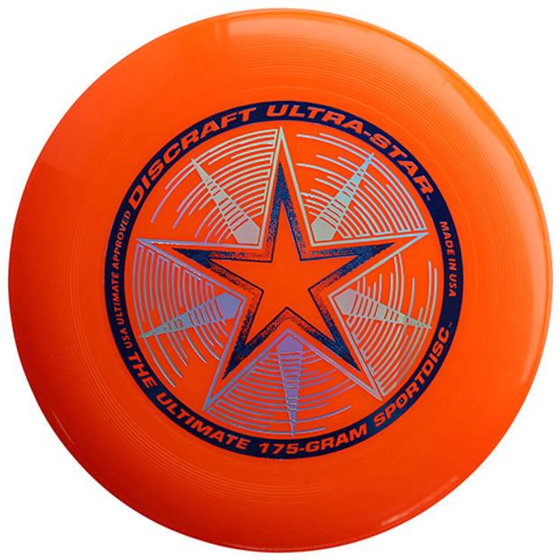 Frisbee discraft ultrastar oranje 175 gram