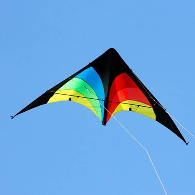 Stuntvlieger Elliot Delta Rainbow 130 cm
