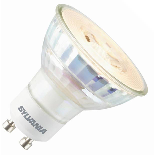 Sylvania led reflector 230v 3,3w (vervangt 25w) gu10 50mm 3000 warm-wit