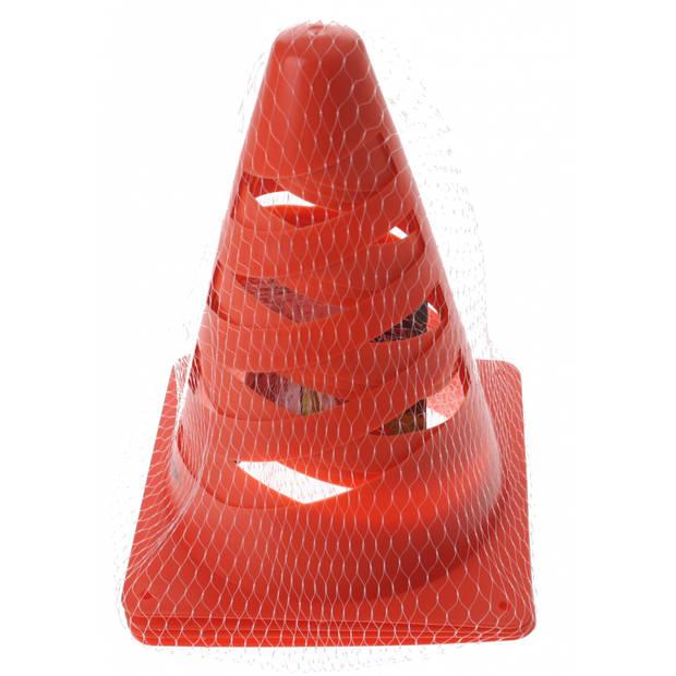 Dunlop pionnen oranje 20 cm 4 stuks