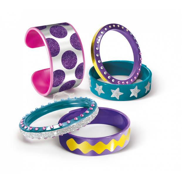 Clementoni Crazy Chic armbanden maken 17-delig