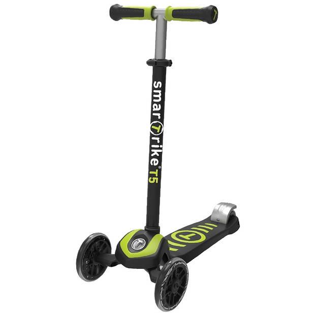 smarTrike Kinderstep Scooter T5 step Junior Zwart/Groen