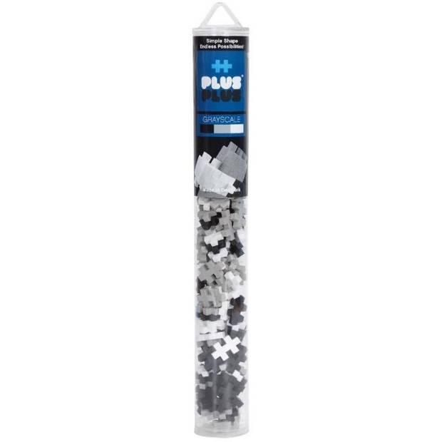 Plus-Plus Mini Basic buis grijs 100 stuks