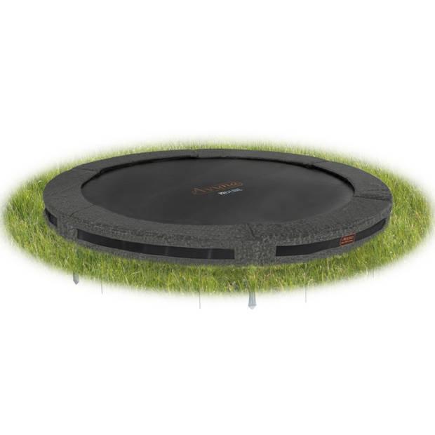 Avyna pro-line inground ronde trampoline ø 430 cm camouflage