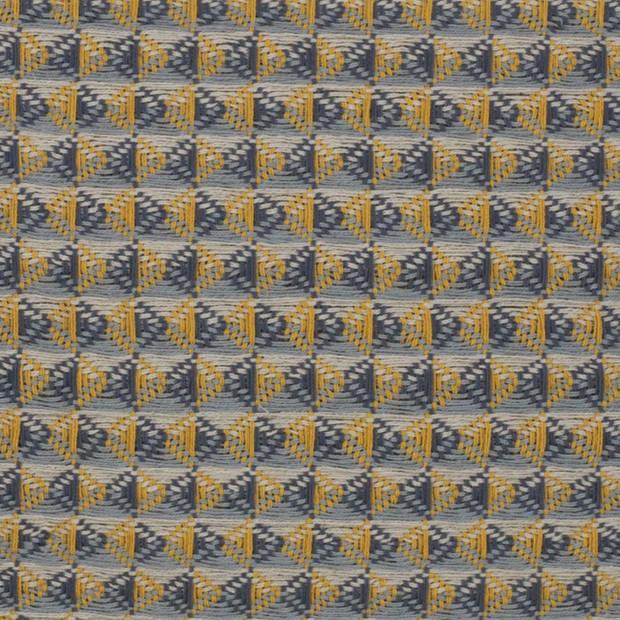 Dutch Decor Sierkussen Aina 45x45 cm mosterd