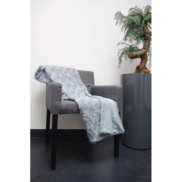 Dutch Decor Plaid Lugga 130x180 cm mist