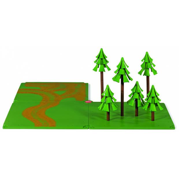 Siku World veldwegen en bos 54 x 54 cm