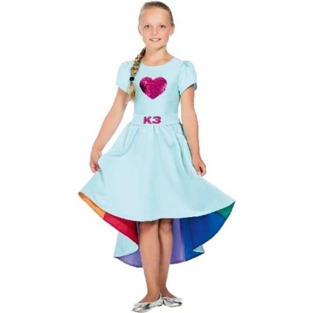 Studio 100 verkleedjurk K3 Love Cruise blauw maat 134