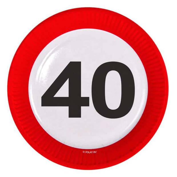 Borden verkeersbord 40