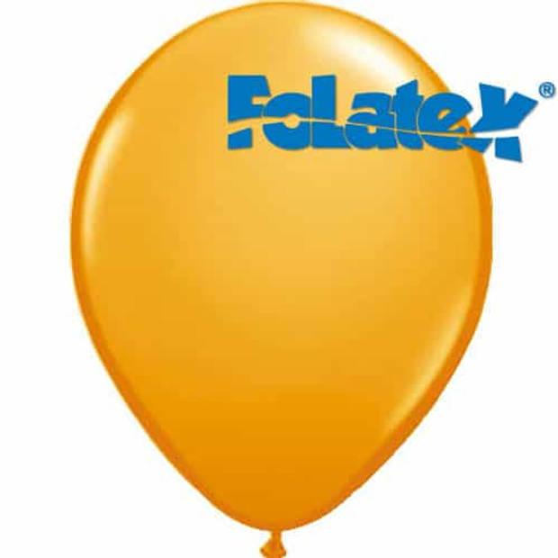 Ballonnen oranje 30 cm 25 stuks