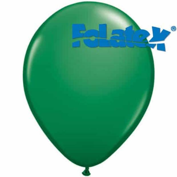 Ballonnen groen 30 cm 25 stuks