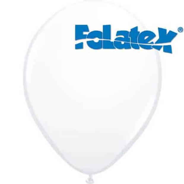 Ballonnen wit 30 cm 25 stuks