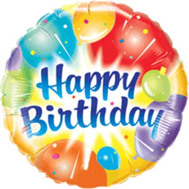 Folieballon happy birthday ballonnen