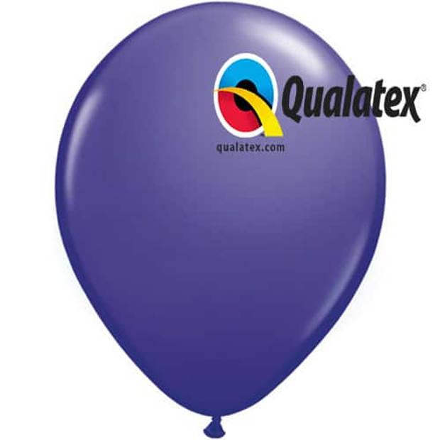 Ballonnen kwarts paars jewel 35 cm 100 stuks