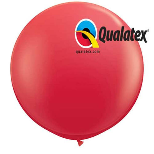 Megaballon rood 95 cm 1 stuks