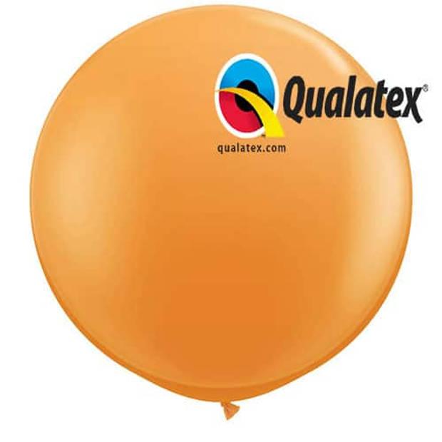 Megaballon oranje 95 cm 1 stuks