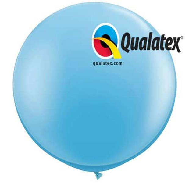 Megaballon lichtblauw 95 cm 1 stuks