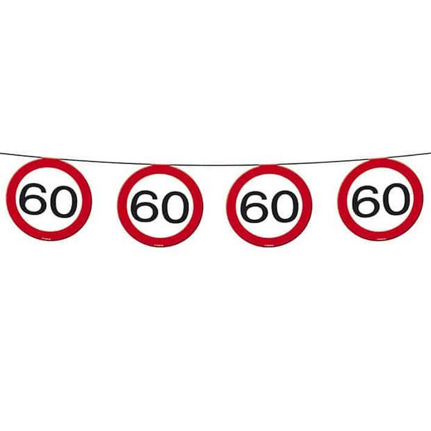 Vlaggenlijn verkeersbord 60
