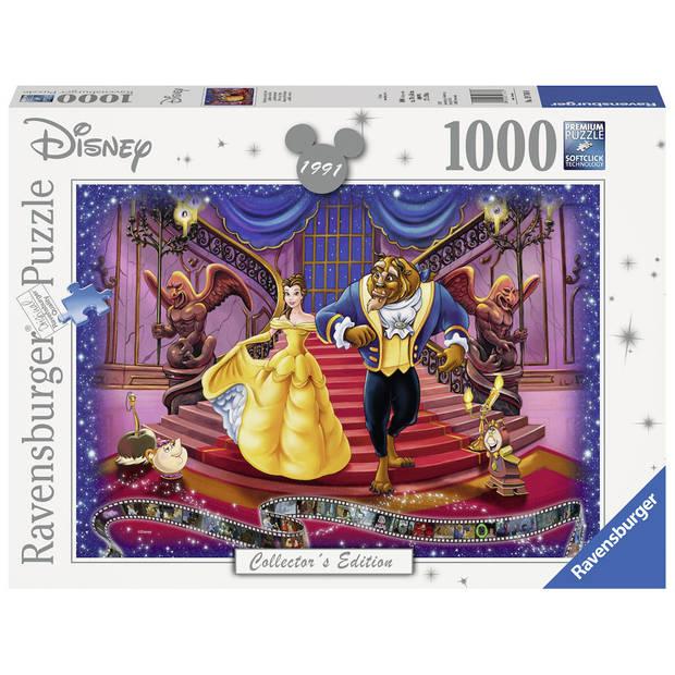 Ravensburger puzzel Disney Belle en het Beest - 1000 stukjes