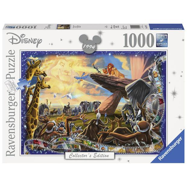 Ravensburger puzzel Disney De Leeuwenkoning - 1000 stukjes