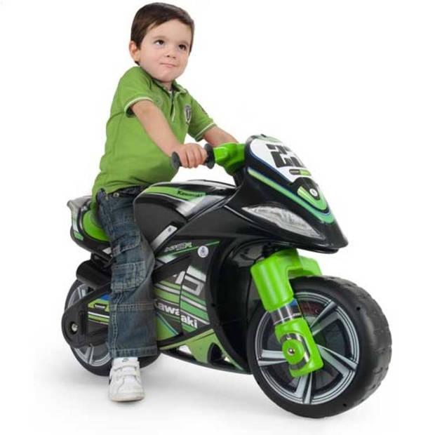 Injusa Kawasaki motor - zwart/groen
