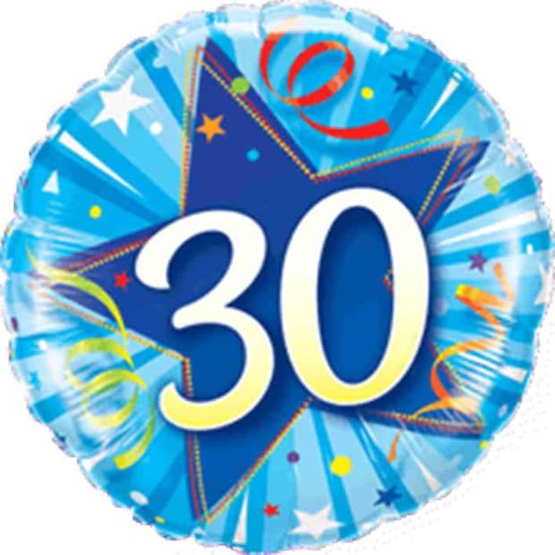 Folieballon 30