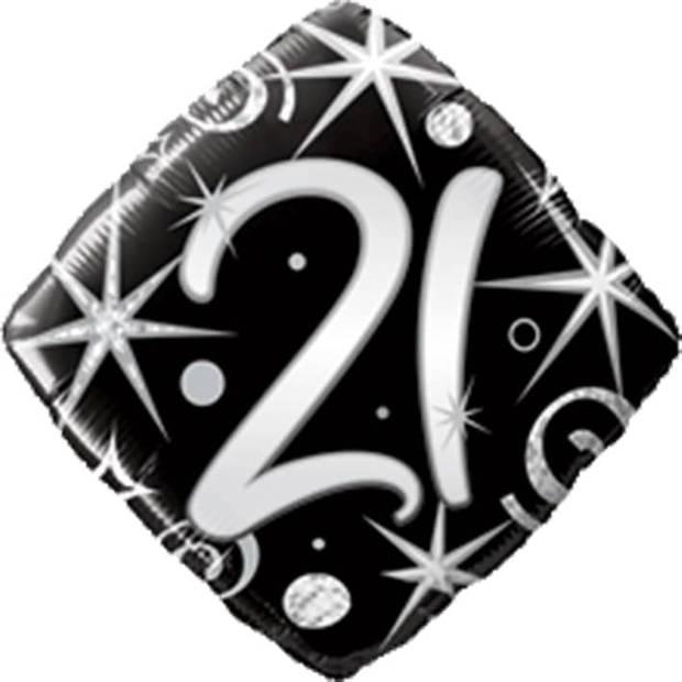 Folieballon 21