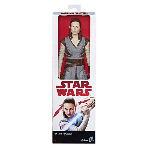 Star Wars The Last Jedi figuur Rey Jedi Training 30 cm
