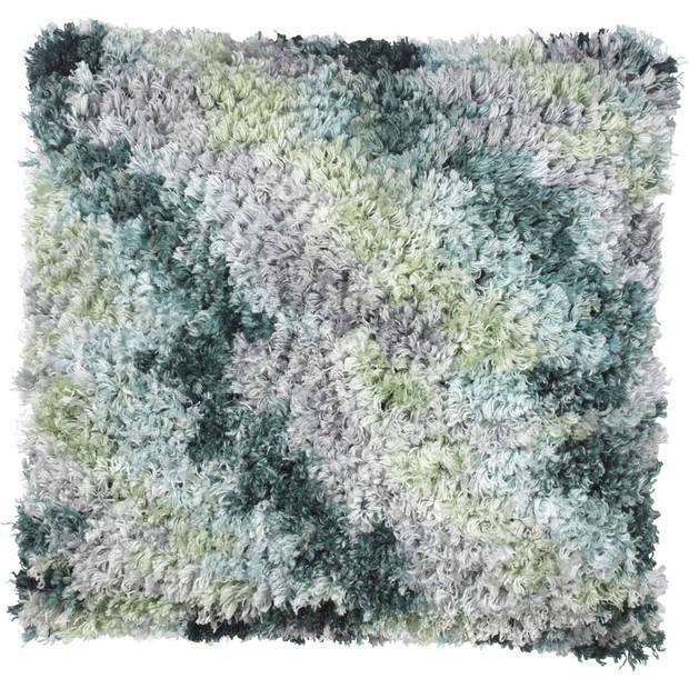Dutch Decor Kussenhoes Laura 45x45 cm smaragd multi