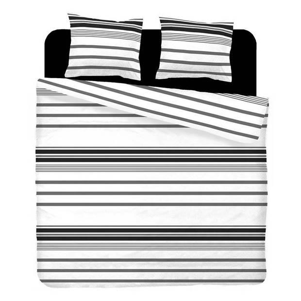 Snoozing Babet dekbedovertrek - Lits-jumeaux (240x200/220 cm + 2 slopen) - Katoen - Grijs