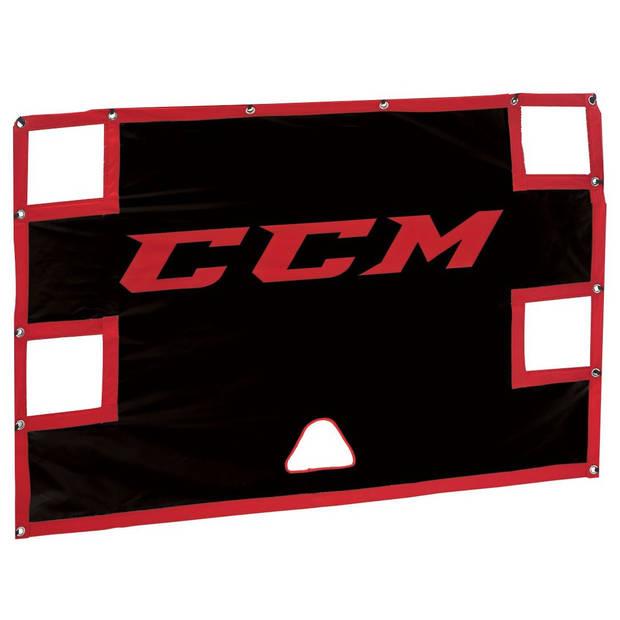 CCM trainingswand Ice Shooter Tutor zwart 183 cm
