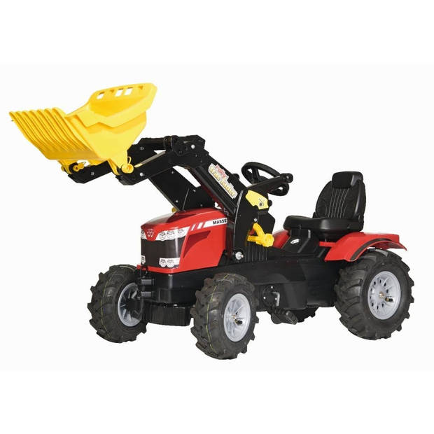 Rolly Toys traptractor RollyFarmtrac MF 8650 LB rood/zwart