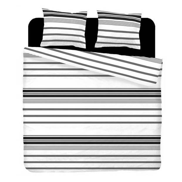 Snoozing Babet flanel dekbedovertrek - 1-persoons (140x200/220 cm + 1 sloop)