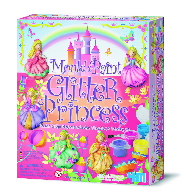Afbeelding van 4m crea gips gieten en verven: prinses