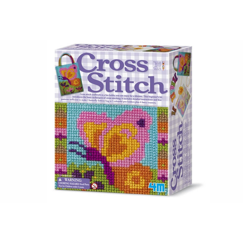 Afbeelding van 4m crea easy knit kruissteken