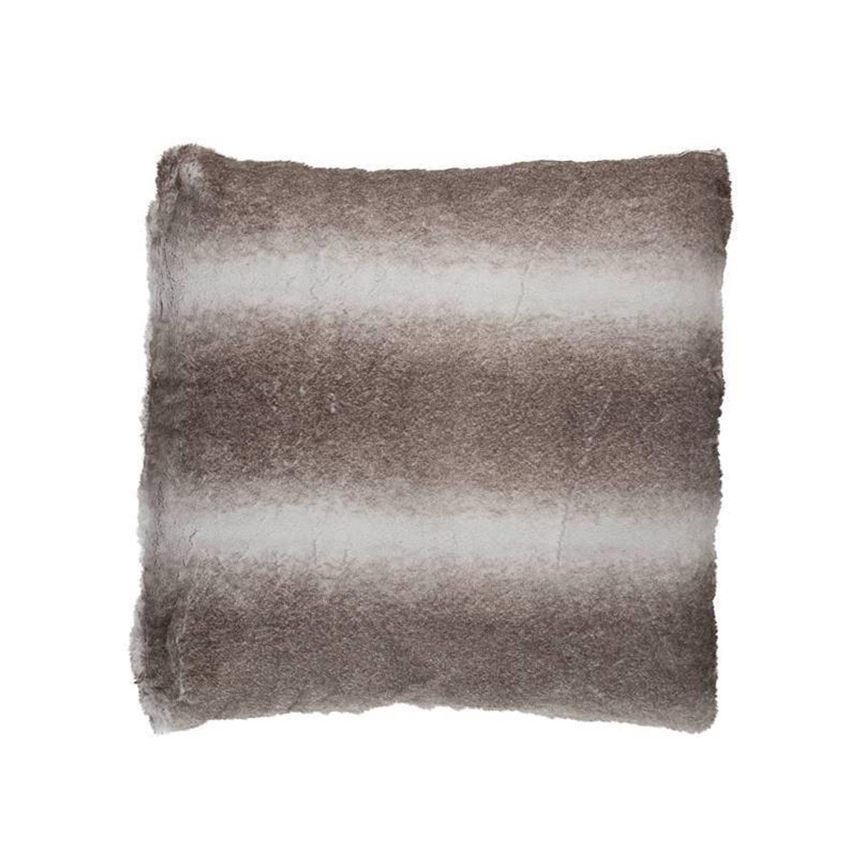 Snoozing Novacane sierkussen - 100% polyester - 50x50 cm - Grijs