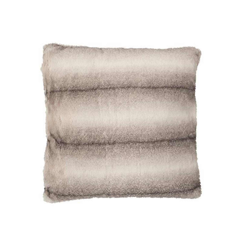 Snoozing Andria sierkussen - 100% polyester - 50x50 cm - Grijs