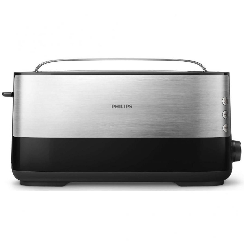 Philips broodrooster - HD2692/90 - zilverkleurig/zwart