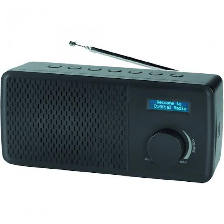 Denver FM radio DAB-41Black