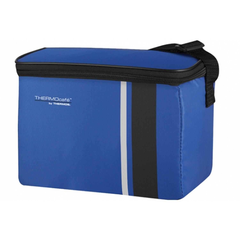 Thermos kleine koeltas 4 liter blauw