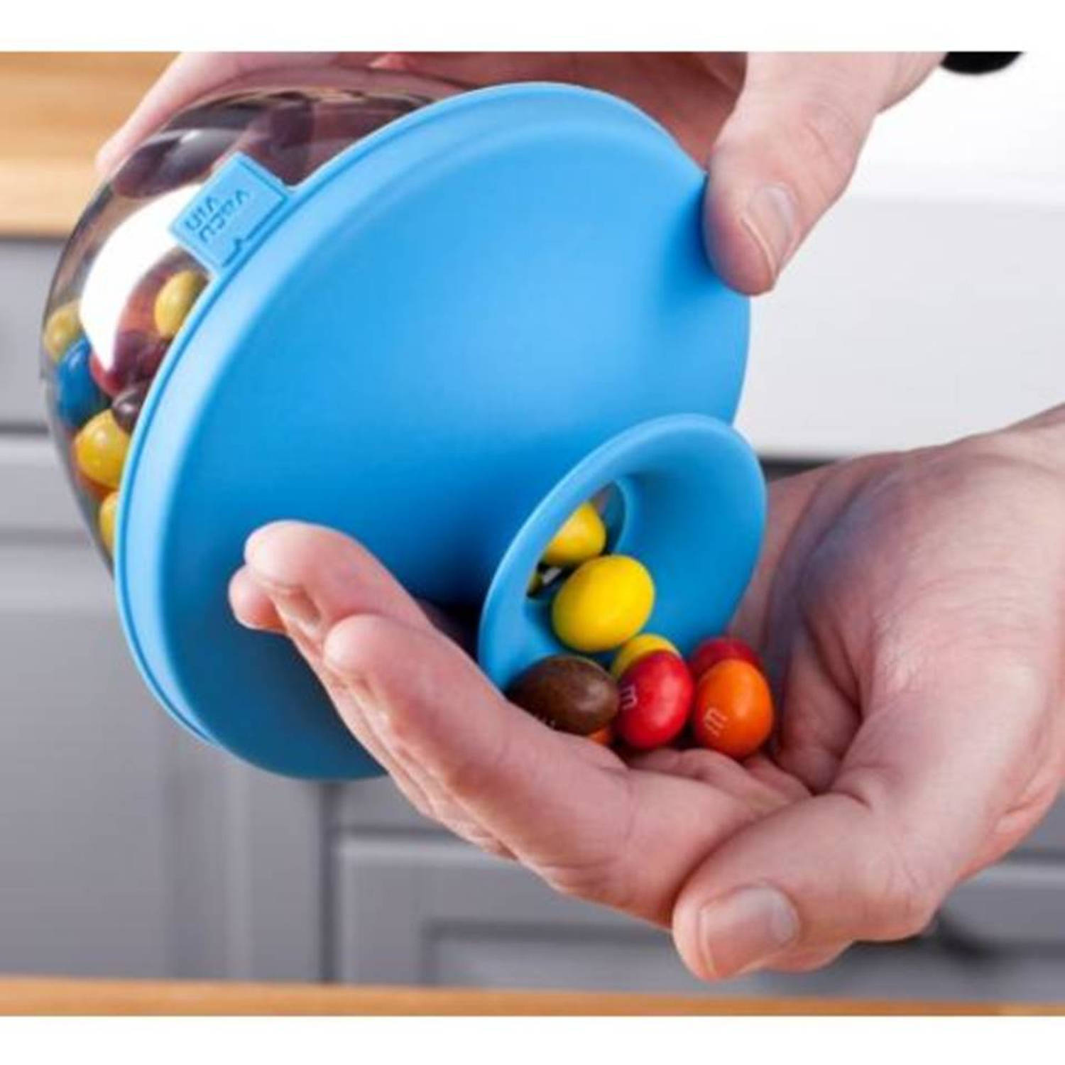 Popsome candy & nuts 0,45 liter, blauw - tomorrow's kitchen