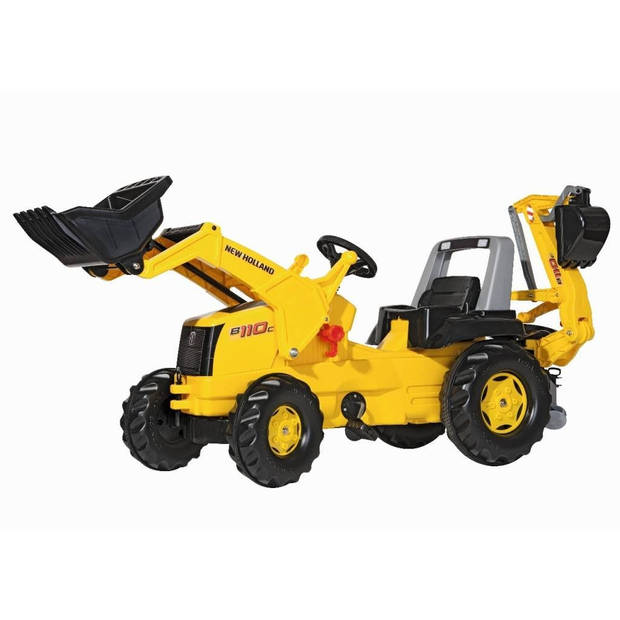 Rolly Toys traptractor RollyJunior New Holland geel