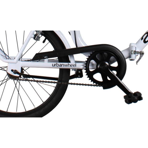 Dino Vouwfiets 321 20 Inch 41 cm Unisex V-Brake Wit