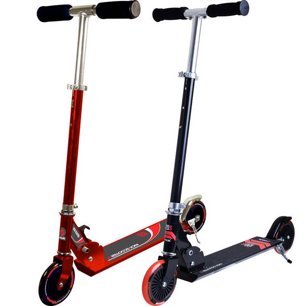 Stiga trick scooter hood zwart/rood