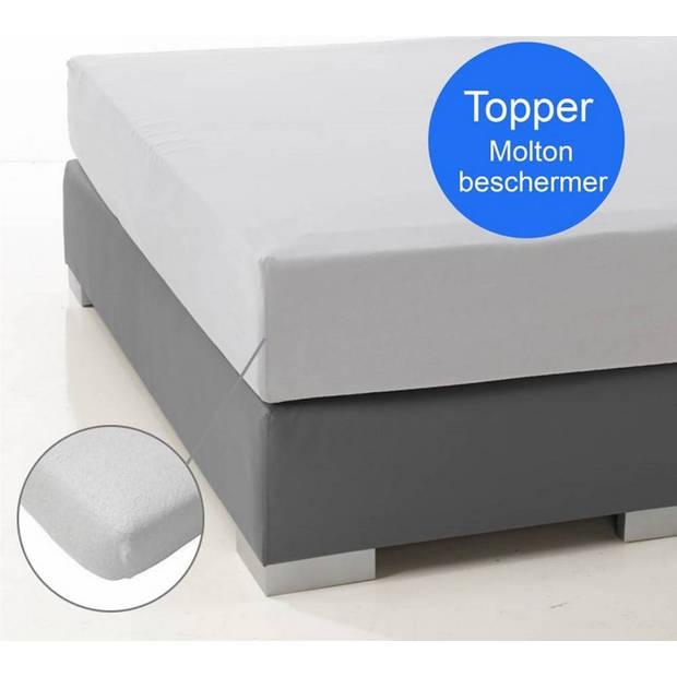 Nightlife Molton Topper Stretch Hoeslaken -80/90/100 x 200/220 cm