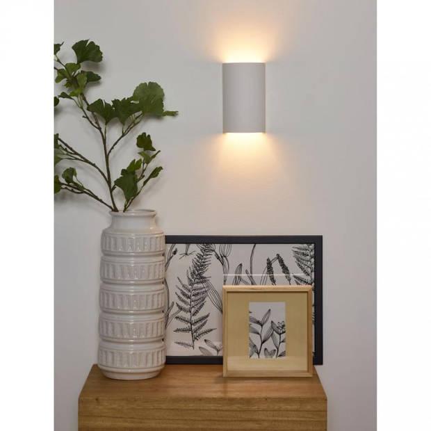 Lucide - gipsy wandlamp - wit