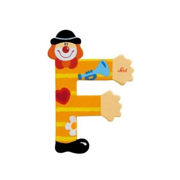 Sevi Letter F Clown 10 cm
