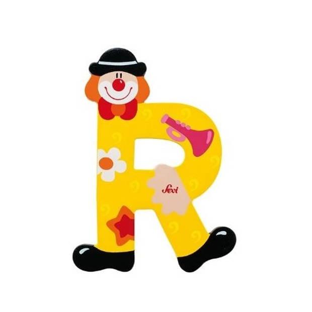 Sevi Letter R Clown 10 cm