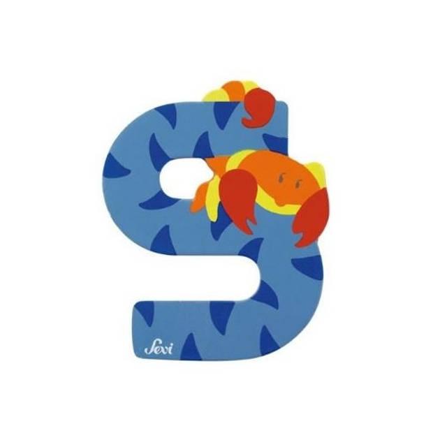 Sevi Letter S Dier 8 cm