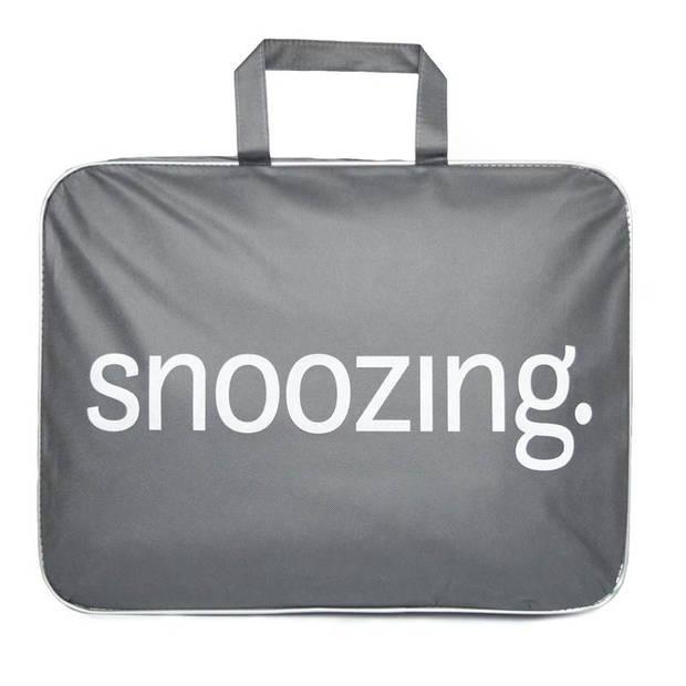 Snoozing Swiss Dreams - Synthetisch - 4-seizoenen - Dekbed - Eenpersoons - 140x200 cm - Wit